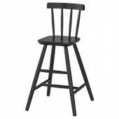 АГАМ Детский стул,черный