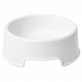 ЛУРВИГ Миска, белый, 0.3 л