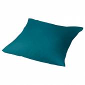НАТТЭСМИН Наволочка, темно-зеленый, 70x70 см